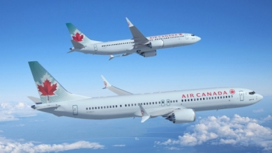 Two Air Canada Boeing 737 Max's