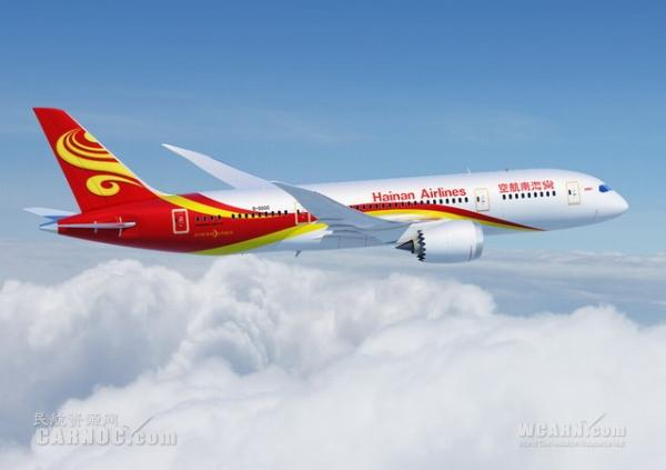 Hainan Airlines 787 links Tianjin with Vancouver